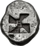 Hemidrachm (Haliartos) – revers