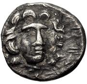 Drachm (Haliartos) – avers