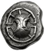 Hemidrachm (Haliartos) – avers
