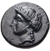 Bronze Æ12 (Halikarnassos) – avers