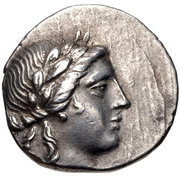 Hemidrachm (Halikarnassos) – avers