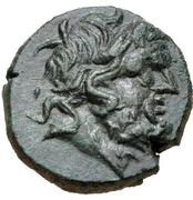 Bronze Æ17 (Halikarnassos) – avers