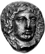 Tetradrachm (Halikarnassos) – avers