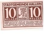 10 Heller (Hallwang) – avers