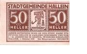 50 Heller (Hallwang) – avers
