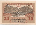 20 Heller (Hallein) – avers