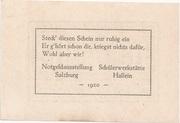 10 Heller (Hallein) -  revers