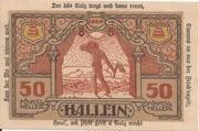 50 Heller (Hallein) -  revers