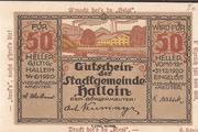 50 Heller (Hallein) -  avers