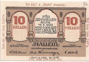 10 Heller (Hallein) -  avers