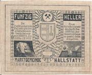 50 Heller (Hallstatt) -  revers