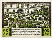 25 Pfennig (Halstenbek, Municipality of) – revers