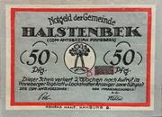 50 Pfennig (Halstenbek, Municipality of) – avers