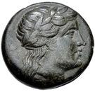 Bronze Æ17 (Hamaxitos) – avers
