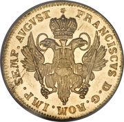2 Ducat - Francis I – revers