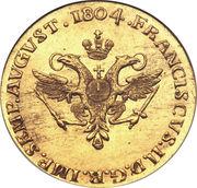 2 Ducat - Francis II – revers
