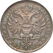 1 Thaler (Bicentenaire de la Confession d'Augsburg) – revers