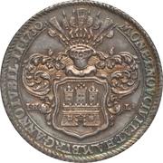 1 Thaler (Bicentenaire de la Confession d'Augsburg) – avers