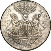 1 Thaler (Centenaire de la paix de Westphalie) – avers