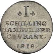 1 Schilling – revers