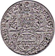2 schilling Karl VI – avers