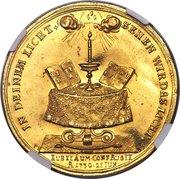 ½ portugalöser (Bicentennaire de la Confession d'Augsbourg) – revers