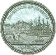 Medaille de souvenir - Hambourg – revers