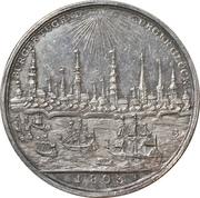 1000ème anniversaire de la ville de Hambourg – revers