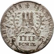 4 schilling Karl VI – avers