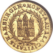 1 Ducat - Leopold I -  avers