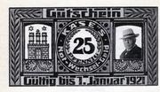 25 Pfennig (H. Käse) – avers