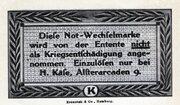 25 Pfennig (H. Käse) – revers