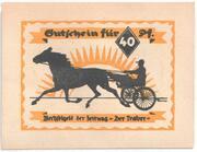 40 Pfennige (Drei-Türme-Verlag) – avers