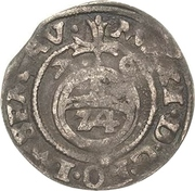 1/24 thaler Maximilian II. – revers