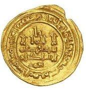 Dinar - al-Mu'tali Yahya (Hammudid of Malaga) – avers
