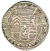 60 Kreuzer Friedrich Casimir – revers