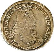 60 Kreuzer Philipp Reinhard von Lichtenberg – avers