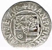 8 pfennig Johann Reinhard I – avers