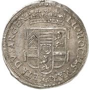 1 gulden - Friedrich Casimir – revers