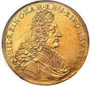 10 ducats Philipp Reinhard – avers