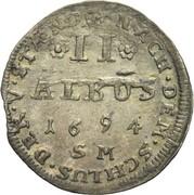 2 Albus (Batzen) - Philipp Reinhard -  revers