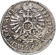 12 Kreuzer - Philipp Moritz under guardianship of Katharina Belgica – revers