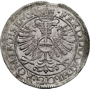 24 Kreuzer - Philipp Moritz under guardianship of Katharina Belgica – revers