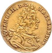 1 Ducat - Wilhelm VIII. – avers