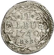 2 albus - Wilhelm VIII. – revers