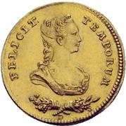 1 ducat - Wilhelm IX. (Mariage) – avers