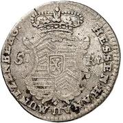 5 kreuzer - Wilhelm IX. – avers