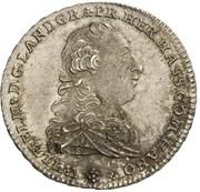 ½ thaler - Wilhelm IX. (Konventionshalbtaler) – avers
