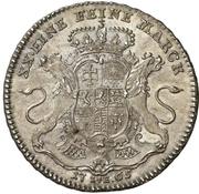 ½ thaler - Wilhelm IX. (Konventionshalbtaler) – revers