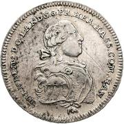 ½ thaler - Wilhelm IX. (1/2 Biberer Ausbeutetaler) – avers